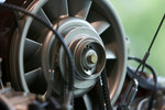 Porsche classic air-cooling fan