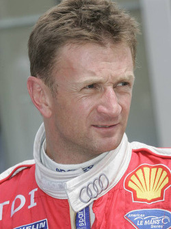 Alan McNish Audi driver
