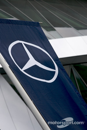 Mercedes-Benz Museum flag
