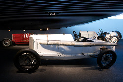 Silver arrows: 1914 Mercedes Grand Prix racing car