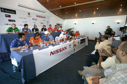 Press conference: FIA's Vice-President for sport and 14-time Middle East Rally Champion Mohamed Ben Sulayem heads the press conference