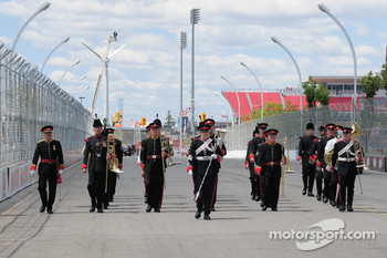 A Canadian Military band