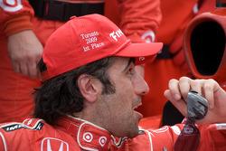 Race winner Dario Franchitti, Target Chip Ganassi Racing