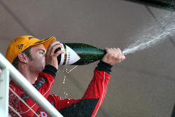 Will Davison finishes second in race one