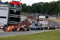 The start of race 2