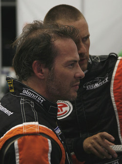 Jacques Villeneuve and Vincent Radermeker