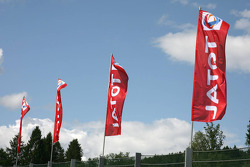Flags at Spa