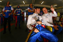 Tiago Monteiro and Olivier Panis