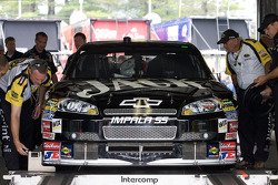 Richard Childress Racing Chevrolet of Casey Mears at tech inspection