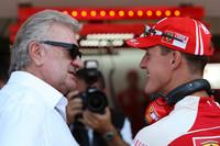 Fórmula 1 Fotos - Willi Weber, Driver Manager, Michael Schumacher, Test Driver, Scuderia Ferrari