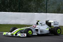 Rubens Barrichello, BrawnGP, spins