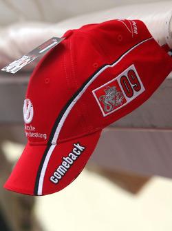 Michael Schumacher comeback cap