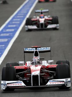 Jarno Trulli, Toyota Racin, Timo Glock, Toyota F1 Team
