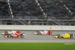 Ryan Briscoe, Team Penske; Scott Dixon, Target Chip Ganassi Racing;  Helio Castroneves, Team Penske; Dario Franchitti, Target Chip Ganassi Racing