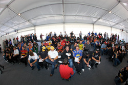 Drivers and crew chiefs meeting