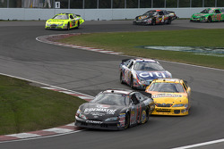 Andrew Ranger leads Marcos Ambrose and Carl Edwards