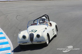 James Alder, 1952 Jaguar XK-120