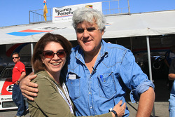 Jay Leno and a lucky fan