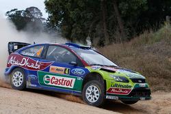 Jari-Matti Latvala and Miikka Anttila, BP Ford Abu Dhabi World Rally Team Ford Focus RS WRC08