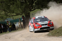 Federico Villagra and Jorge Perez Companc, Munchi's Ford World Rally Team Ford Focus RS WRC08