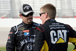 Casey Mears, Richard Childress Racing Chevrolet and Jeff Burton, Richard Childress Racing Chevrolet