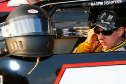 Kyle Busch, driver of the #51 prepares to drive
