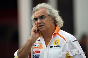 Ex-Renault team boss Flavio Briatore