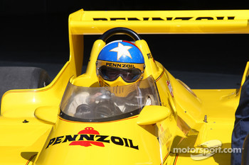 Johnny Rutherford enjoyed turning laps in Jim Hall's famous Pennzoil Chaparral