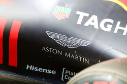 Aston Martin - Logo am Red Bull Racing RB12