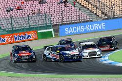 Timmy Hansen, Team Peugeot Hansen, Johan Kristoffersson, Volkswagen Team Sweden, Mattias Ekström, EKS RX Audi S1, Petter Solberg, PSRX Citroën DS3 RX, Sébastien Loeb, Team Peugeot Hansen