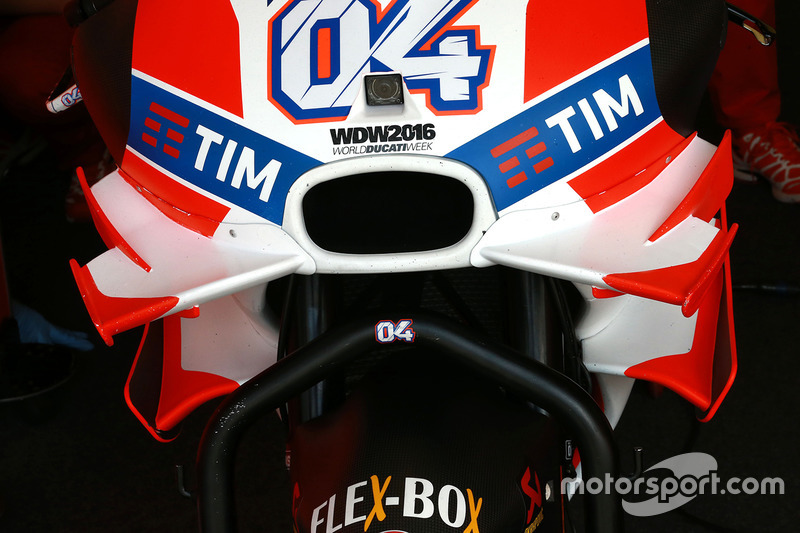 Ducati-Winglets (frühere Version)