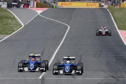 Felipe Nasr, Sauber F1 Team und Marcus Ericsson, Sauber F1 Team
