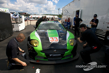The new #33 RSR Jaguar XKR