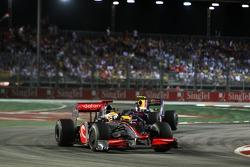Lewis Hamilton, McLaren Mercedes, Sebastian Vettel, Red Bull Racing
