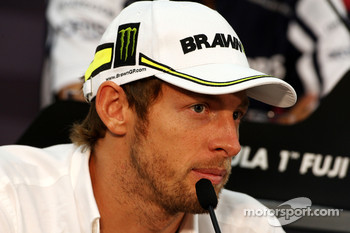 FIA press conference: Jenson Button, BrawnGP