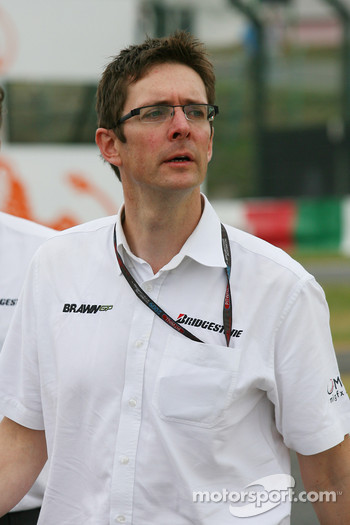 Andrew Shovlin, Jenson Button's race engineer