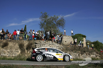 Petter Solberg and Phil Mills, Citroen C4