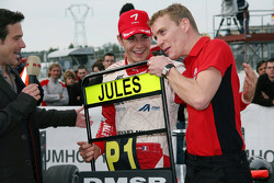 Race winner and champion Jules Bianchi, ART Grand Prix Dallara F308 Mercedes