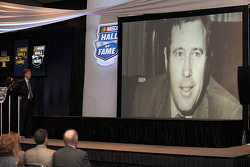 NASCAR Chairman and CEO Brian France looks on after announcing his father Bill France Jr. was in the NASCAR Hall of Fame