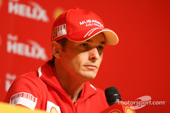 Shell press conference, Giancarlo Fisichella, Scuderia Ferrari
