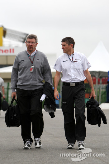 Ross Brawn Nick Fry, BrawnGP, Chief Executive Officer