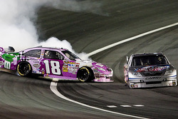 Kyle Busch, Joe Gibbs Racing Toyota spins