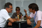 Dr. Mario Theissen, BMW Sauber F1 Team, BMW Motorsport Director and Felipe Nasr, Formula BMW Europa champion