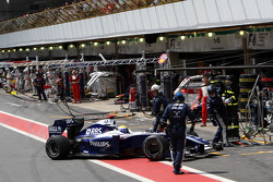 Nico Rosberg, WilliamsF1 Team retires from the race