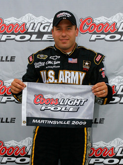 Pole winner Ryan Newman, Stewart-Haas Racing Chevrolet