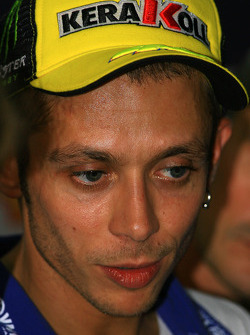 Post-qualifying press conference: pole winner Valentino Rossi, Fiat Yamaha Team