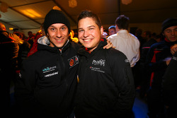 Prize giving party: Alex Müller and Christopher Mies