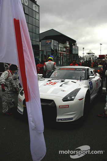 #35 Nissan Motorsports Nissan GT-R