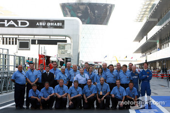 The FIA team with Jean Todt FIA President and Charlie Whiting, FIA safety delegate, Race director and offical starter
