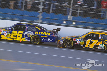 Jamie McMurray, Roush Fenway Racing Ford, Matt Kenseth, Roush Fenway Racing Ford